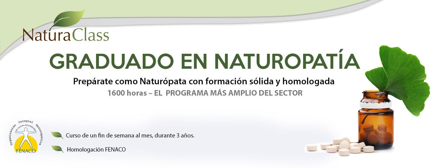 Graduado en Naturopatía