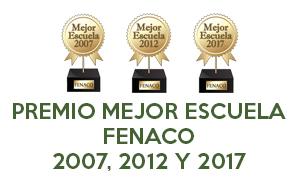 Premio mejor Academia de masaje estética y naturopatía