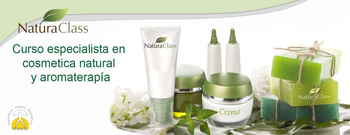 Curso especialista en cosmética natural y aromaterapia