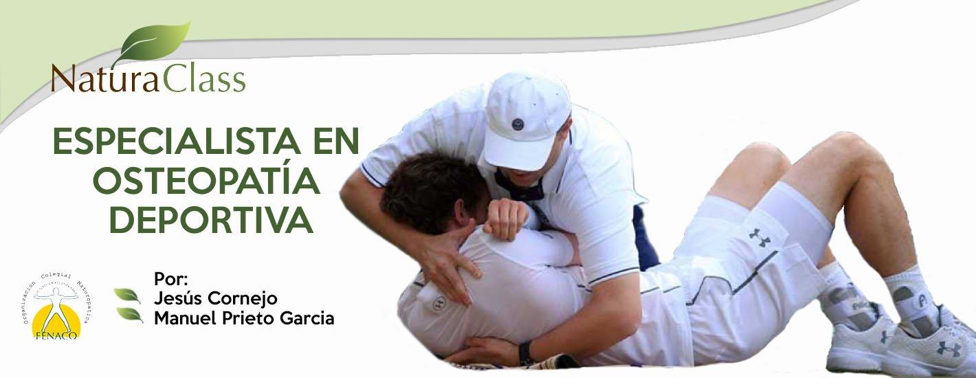 Especialista en Osteopatía Naturopática Deportiva