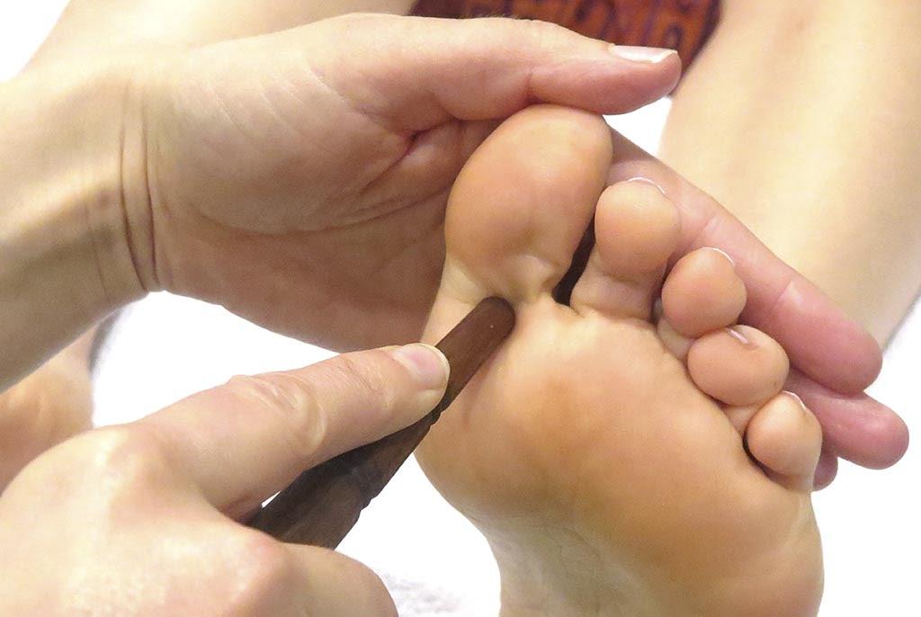 Masaje de pies Tailandés