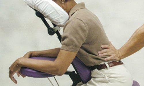 Quiromasaje en silla (On-Site Chair Massage)